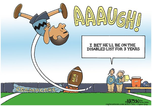 Obama Tries to Kick ACA Football