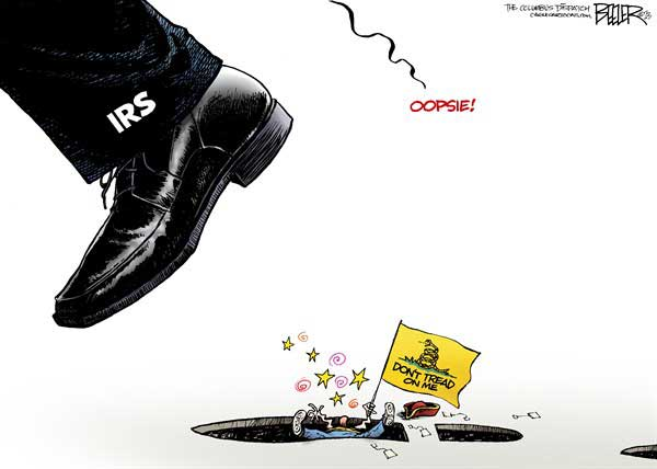 The IRS and the Tea Party