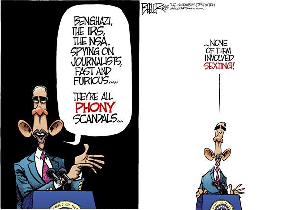 Phony Scandals