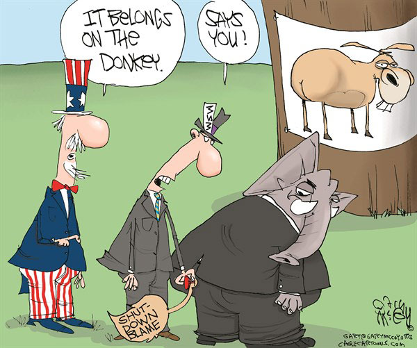 Pin The Blame On The GOP