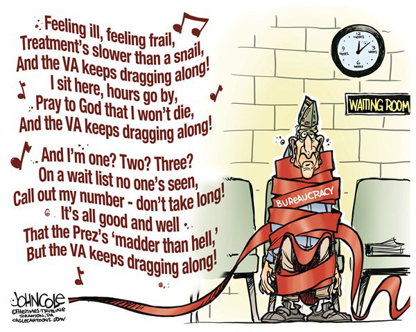 VA Drags Along
