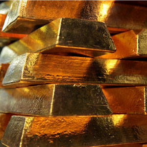 Gold Quietly Marshalling Strength