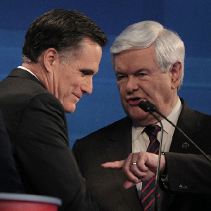 Romney, Gingrich Launch 99 Percent Attacks On One Another