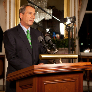 Boehner to GOP: Get your a** in line