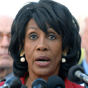 Representative Waters Making Waves With Comments