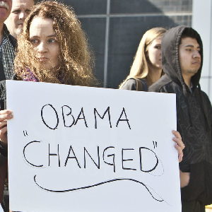 Study: Obama Youth Support Waning