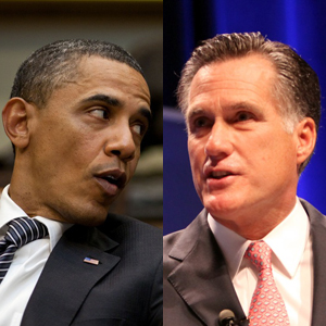 According To Their Campaigns, It's Obama Vs. Romney