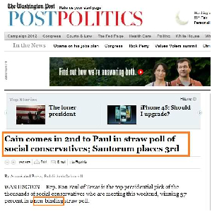 Ron Paul Supporters Decry Media Bias