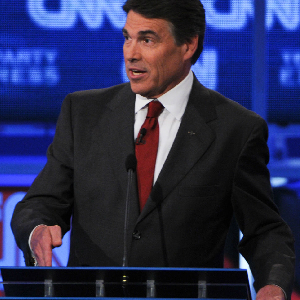 Perry Practicing, Polishing For Debates