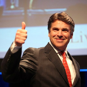 Perry Gains Support, Questions Remain