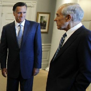 Polls: Romney Leads in New Hampshire, Paul Second