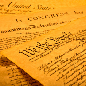 Conservative Protesters: Restore The Constitutional Republic