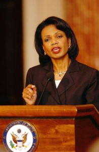 Rice In Memoir: U.S. Should Try To Bring Down Iran's Government
