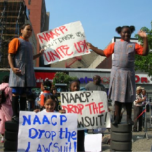 Blacks Picket The NAACP