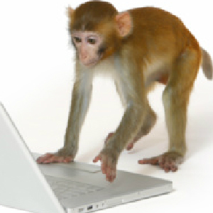 Newsweek And The Infinite Monkey Theorem