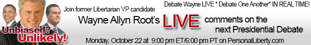 Unbiased? Unlikely! Join in on the debate with Wayne Allyn Root