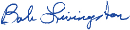 Bob Livingston Signature