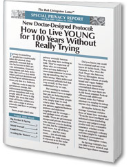 FREE Report: How to Live YOUNG for 100 Years