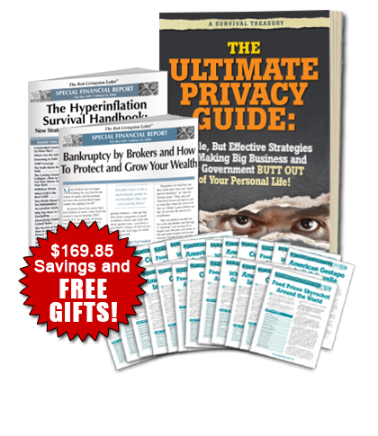 Ultimate Privacy Book with FREE Reports