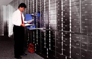 Bank Safety Deposit Box
