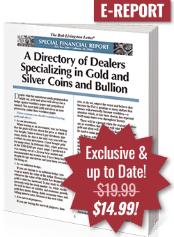 Directory of Dealers Specializing in Gold Bullion and Gold Coins
