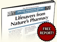 Lifesavers from Nature's Pharmacy