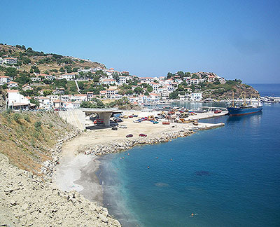 Ikaria. Source: C Messier. CC BY-SA 3.0. https://commons.wikimedia.org/wiki/Category:Ikaria#/media/File:Efdilos_2011.JPG