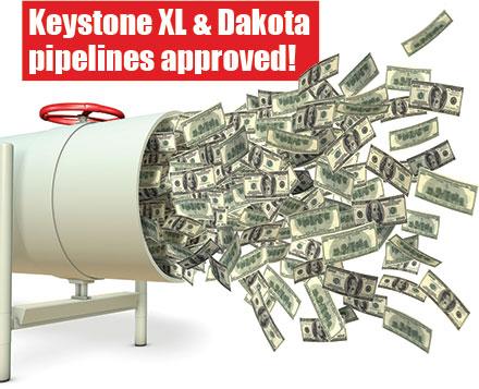 pipeline cash