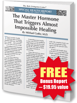 FREE REPORT: The Master Hormone That Triggers Almost Impossible Healing